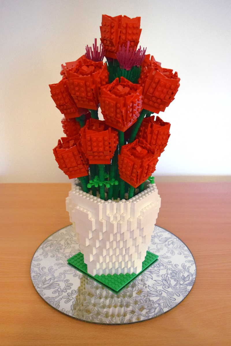 Lego Rose Amp Thistle Vase Completion Brick Twist